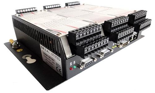 Fond de panier 3 slots pour modules E/S et axes BIM