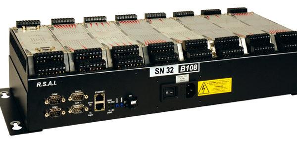 Automate modulaire 8 slots avec contrôleur d'axes
